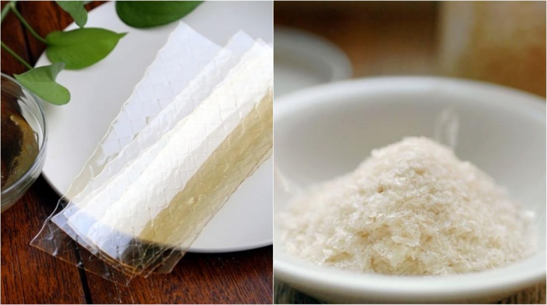 phân biệt gelatin