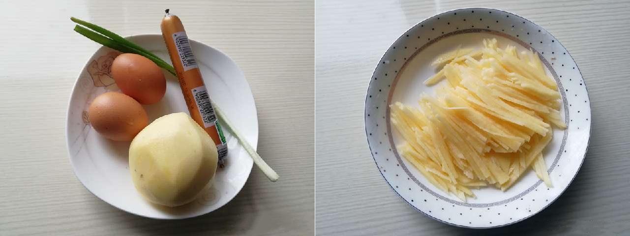 Cận Tết lắm rồi, bữa sáng làm bánh trứng chiên thơm ngon ở nhà ăn cho