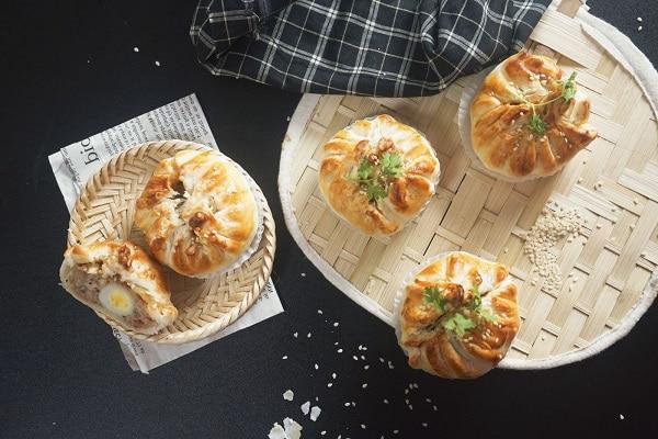 bánh bao nướng hình 4