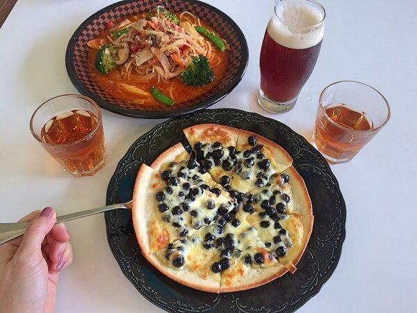 pizza trân châu hình 1