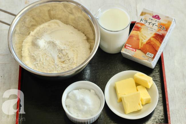 Tự làm bánh mì bơ mềm min
