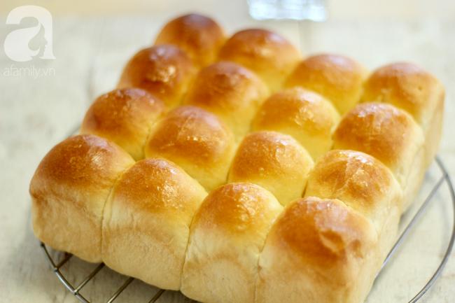 Tự làm bánh mì bơ mềm min 5