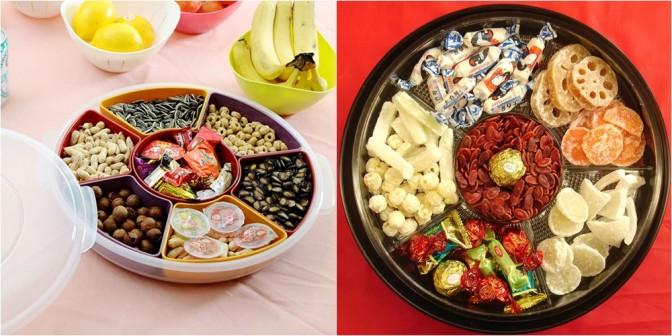 Cách chọn mứt, hạt dưa và bánh kẹo ngày Tết