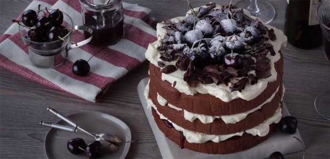 Cách làm bánh kem Black Forest - bánh gato rừng đen thơm ngon đơn giản dễ làm