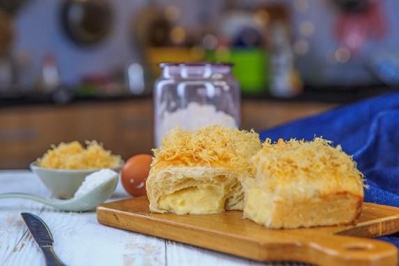 Cách làm bánh mì chà bông nhân phô mai tan chảy, ăn hoài không chán