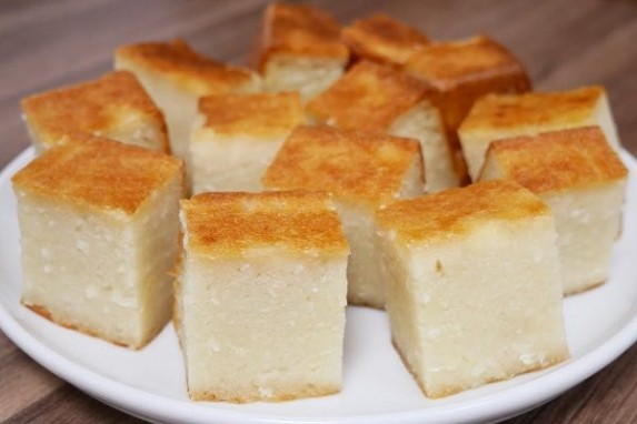Công thức làm bánh khoai mì nướng làm từ nồi cơm điện cực đơn giản