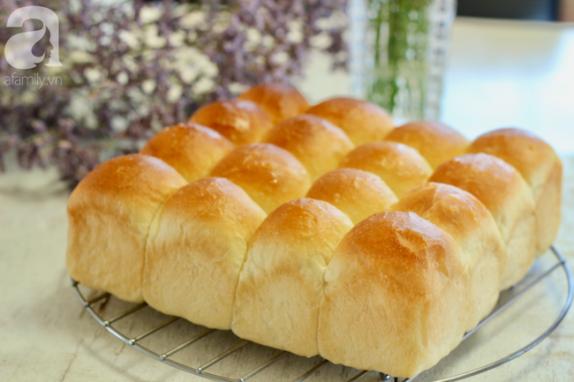 Tự làm bánh mì bơ mềm mịn từ nhỏ đến lớn, già đến trẻ ai ăn cũng mê mẩn!
